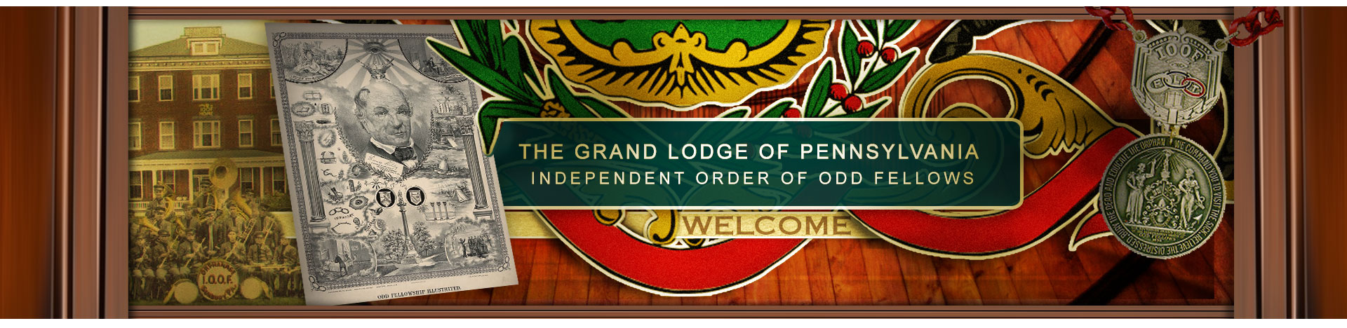 Welcome to The Grand Lodge of Pennsylvania, Independent Order of Odd Fellows!